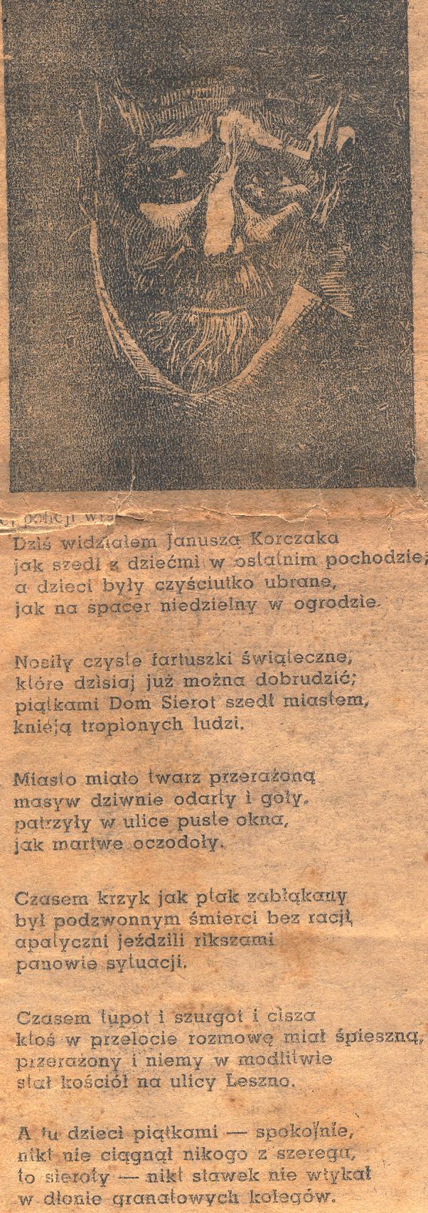Wladyslaw Szlengel The Ghetto Poet